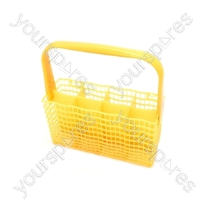 Zanussi Yellow Slimline Cutlery Basket