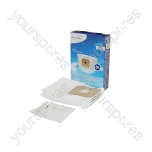 Electrolux Vacuum Fibre Bags and Filter Pack (ES53)