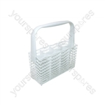 Zanussi White Narrow Dishwasher Cutlery Basket