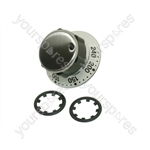 Zanussi Stainless Steel Main Oven Control Knob