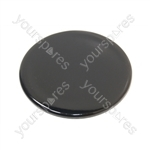 Tricity Bendix Gas Hob Black Small Burner Cap - 55mm