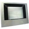 Zanussi Stainless Steel Main Oven Door Glass Panel