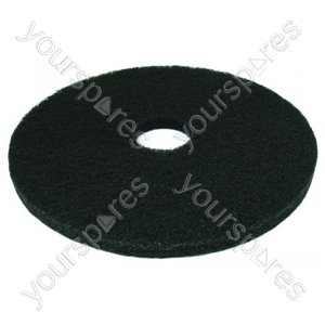 """Cleaning Pad 17"""" Black"""