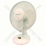 "Fan White 9"" Desk"