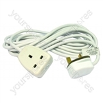 Extension Lead 1 Gang 5 Metre 13 Amp (bagged)