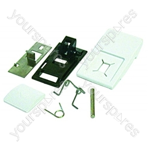 Ariston Door Handle Kit White