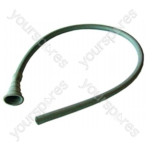 Fill Hose Plain Grey Rubber