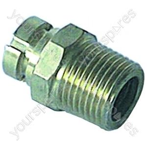 Gas Socket 1/2 Inch Straight