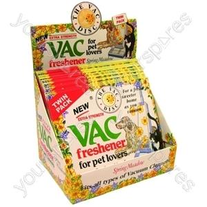 Vac Freshener Discs Pet Lovers 24 X Twin Pack