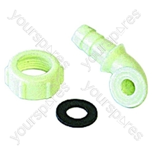 Angled Connector 1/2 Inch