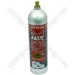 Gas Bottle R407 1kg