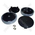 Vacuum Wheel Kit