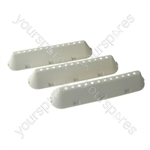 3 X Indesit Hotpoint Ariston Washing Machine Drum Paddle Lifter 12 Hole