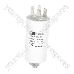 Universal 1.5UF Microfarad Appliance Motor Start Run Capacitor