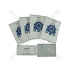 Miele GN Hyclean Pack of 4 Microfibre Vacuum Cleaner Dust Bags