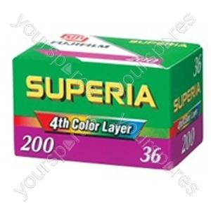 Fuji Superia 200asa Ca36 P10gbf1101a Sgl 871292800801