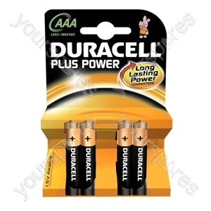 Duracell Plus Power AAA B4 018457