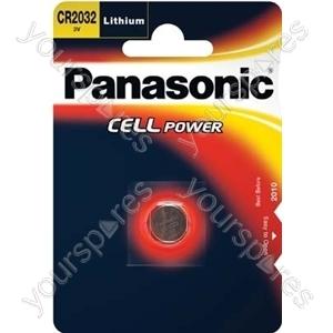 Panasonic Cr2032 Lithium 5410853019602