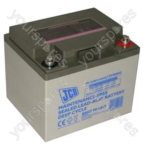 JCB 12 Volt 38 Ah Agm Deep C Lpc12 - 38
