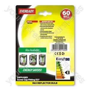 Eveready Ref R63 60w Es Blx2