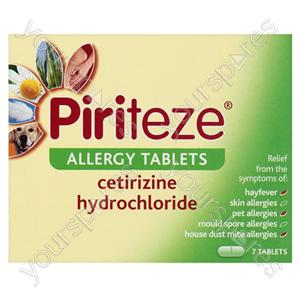 B849 Allergy Tablets Piriteze 7s
