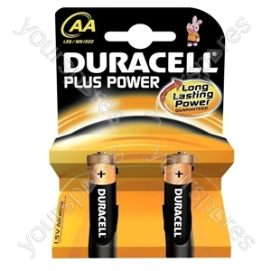 Duracell Plus Power AA B2 017610