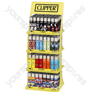 B1866 Clipper Large 4 Tier Display 4 Designs +24 Foc Specia