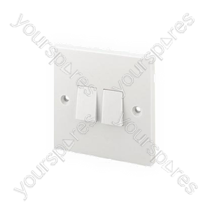 B453 2gang 2 Way Light Switch