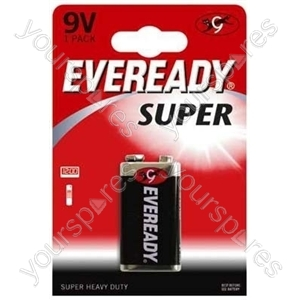 9v Eveready Pp3b1 Super 622754
