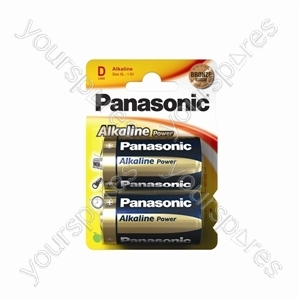 Panasonic Lr20 B2 Bronze Power Lr20apb/2bp Bronze