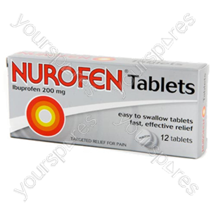 B1067 Nurofen Tablets 12s