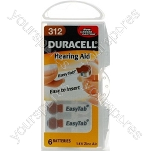 Duracell Hearing Aid 312 536214