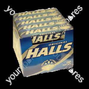 B1003 Halls Original Mentho Lyptus Sweets 1 X 20 In A Box