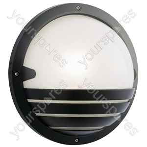 Round Black Bulkhead (la