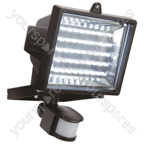 45 Led Black Pir Flood