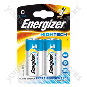 Energizer C Hi Tech Pk2 632883