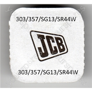 303/357/sg13/sr44w Jcb Silver Oxide