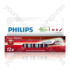 Philips AAA 12pk Power Alkaline