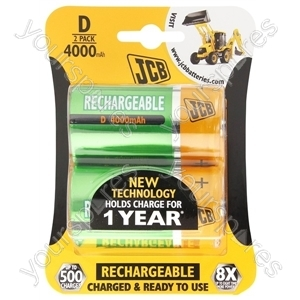 JCB Jcb D B2 Rtu 4000mah Ready-to-use Low Self-discharge