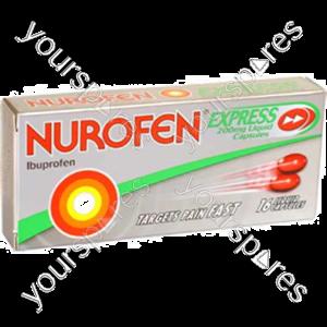 B1064 Nurofen Express Liq Caps 16s