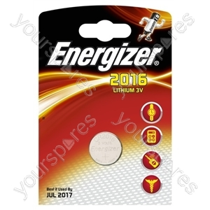 Cr2016 Energizer 1pk Lithium 626985