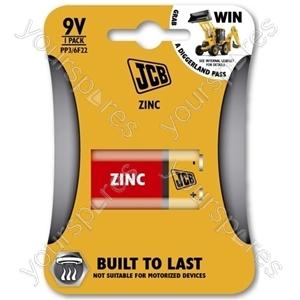 JCB Jcb Pp3/9v 1 Pk Zinc