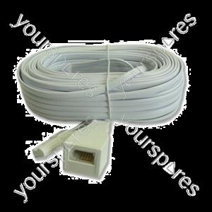 B420 Telephone Extension Plug To Socket 20m