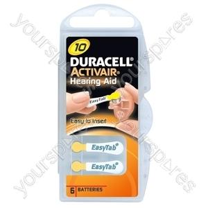 Duracell Hearing Aid 10 536221
