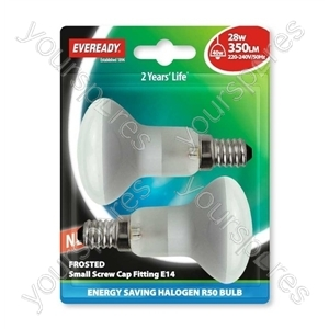 Eveready Energy Saving Halogen R5 0 Reflector 28w (40w) Ses Bli