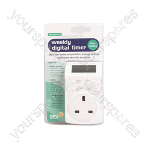 B386 Avantix Digital Timer 4 Button