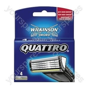 Quattro Plus Blades 4pk 7007094e Pk4