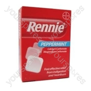 B1098 Rennies 12's Peppermint