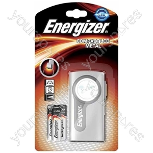 Energizer Compact Led Torch 632265 Includes Batteries