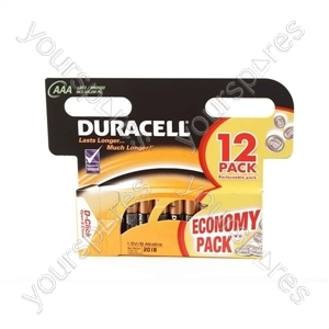 Duracell AAA 12pk Basic
